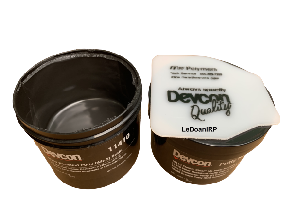 WEAR RESISTANT PUTTY (WR-2) 11410 - DEVCON IRP150